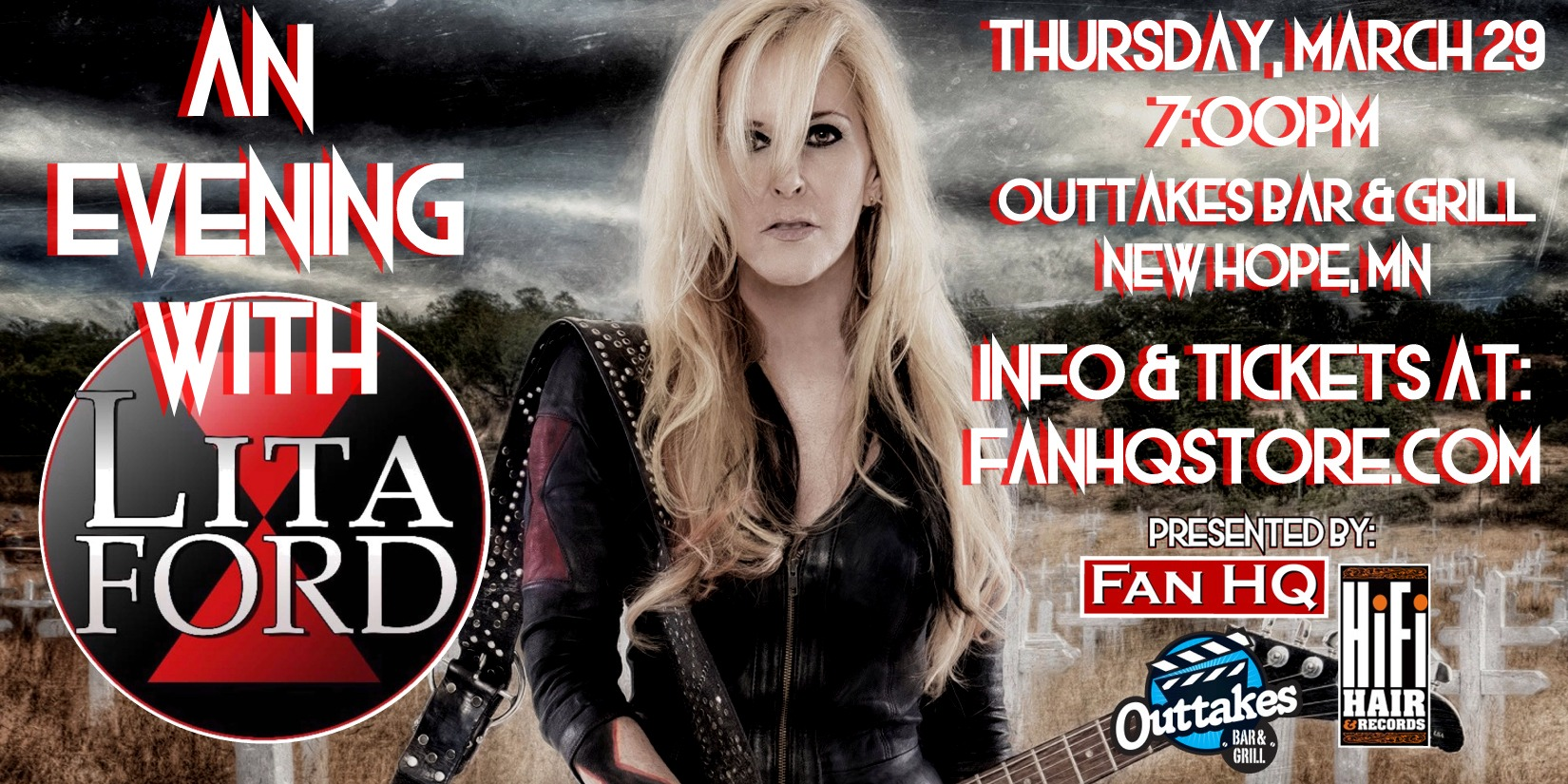Evening with Lita Ford Twitter