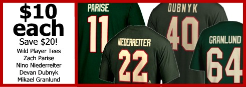 Wild Player Tees